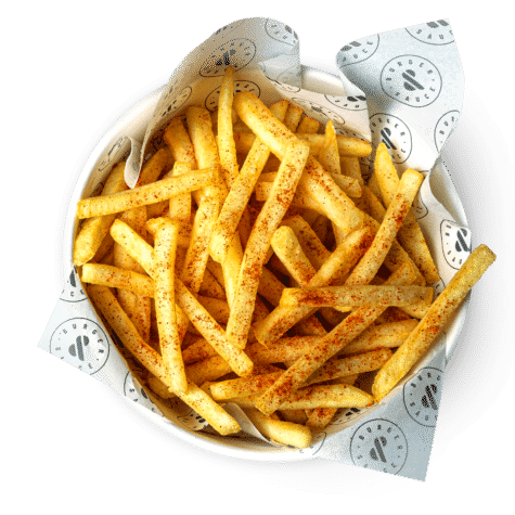 Fire Fries - Our fries with a Cajun coating to set your taste buds on fire.