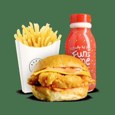 Burger & Sauce The Kids Meals