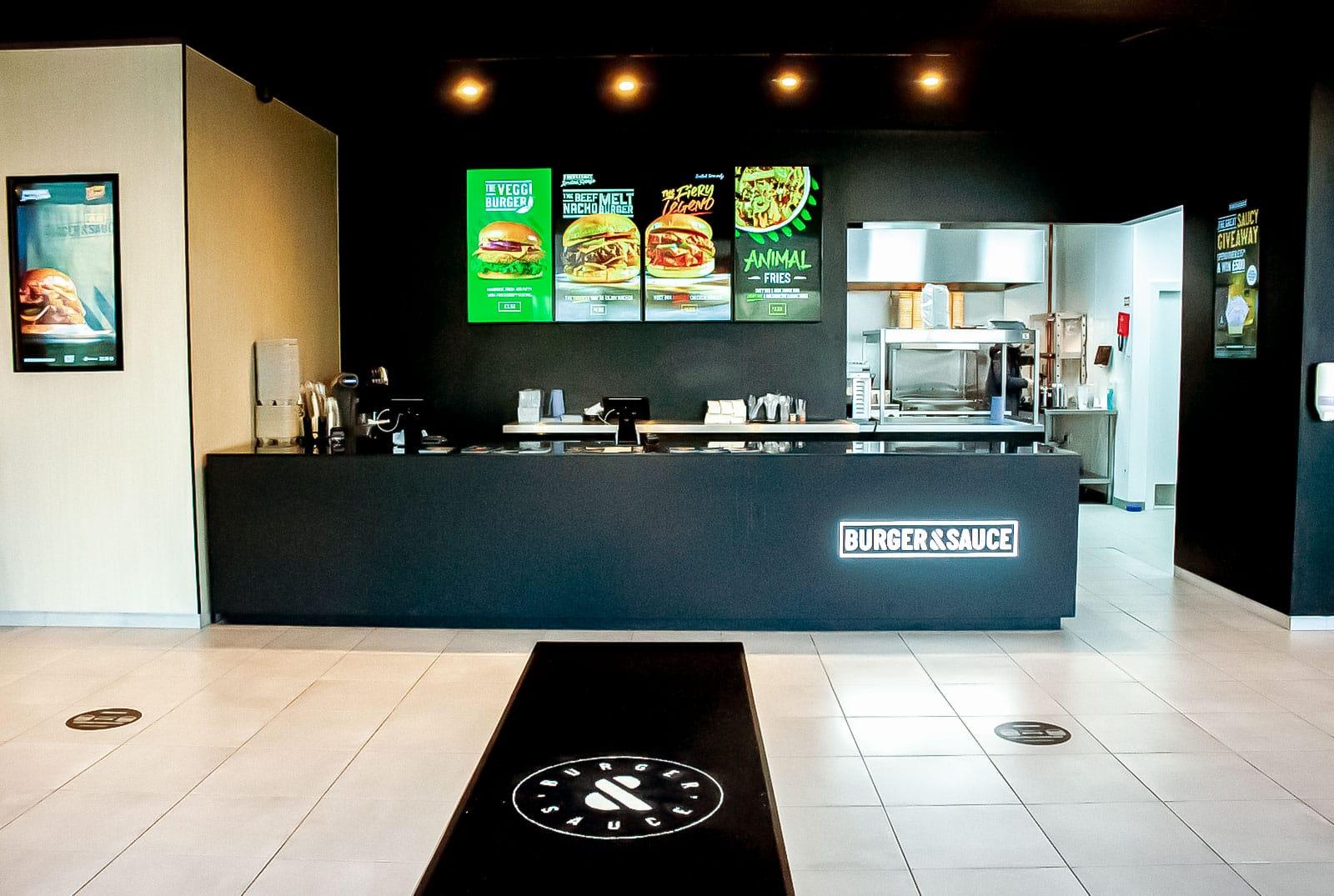 Burger & Sauce Castle Vale Location - Order Online