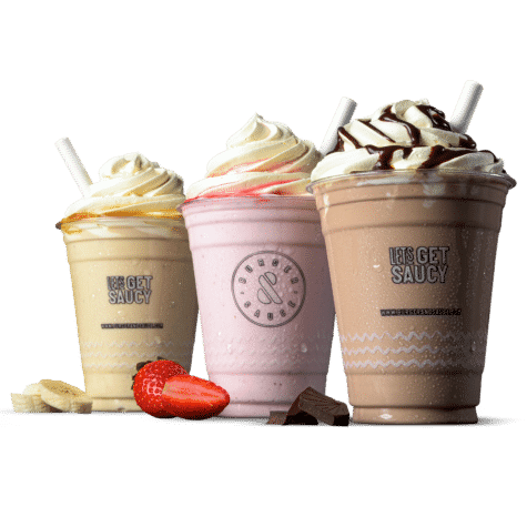 Milkshakes - Try our delicious shakes, choose from Chocolate, Strawberry or Banana.